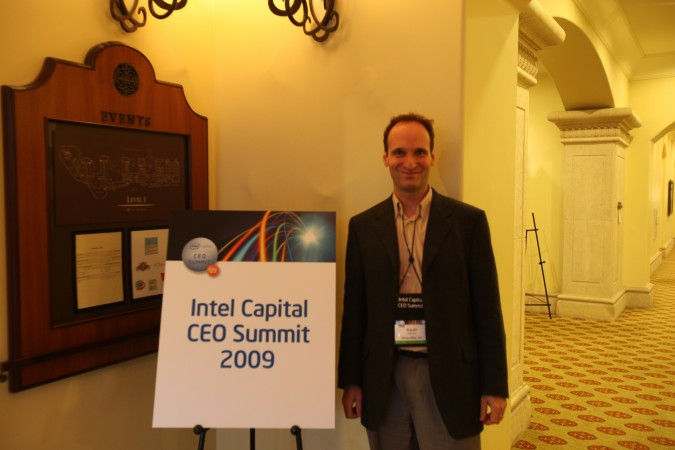 Kevin Warnock at Intel Capital CEO Summit 2009