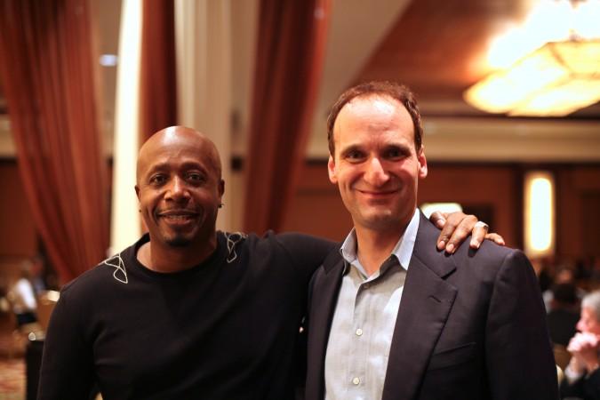 MC Hammer and Kevin Warnock at Intel Capital CEO Summit, 2009